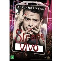 Dvd+cd Alejandro Sanz - Sirope Ao Vivo*novo/lacrado