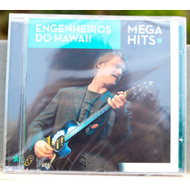 Cd Engenheiros Do Hawaii - Mega Hits - Novo Lacrado - Raro