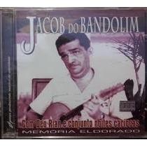 Cd Jacob Do Bandolim - Memória Eldorado - Novo E Lacrado