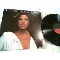 Vinil Lp ( Carly Simon The Best Of Carly Simon ) 1976