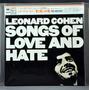 Leonard Cohen - Songs Of Love And Hate Cd Mini Lp Japonês