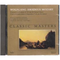 Cd Mozart Concerto Para Piano E Orquestra - Classic Masters