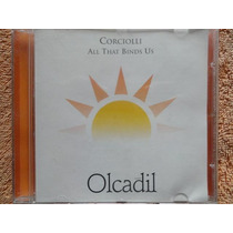 Cd - Corciolli - All That Binds Us - New Age - Relax