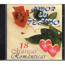 Amor Eu Te Amo - Vários - Cd Original - Coletânea Romântica