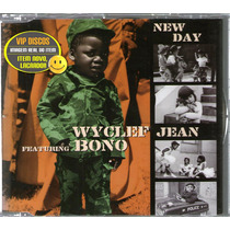 Wyclef Jean Com Bono U2 Cd Single New Day 2 Versões Br Raro