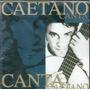 Cd Caetano Veloso - Canta - Novo***