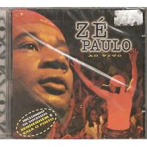 Cd Ze Paulo - Ao Vivo -com Rala O Pinto - Axe Samba Reggae