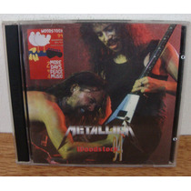 Cd Duplo Metallica Woodstock 94 Thrash Metal Imp. Itália