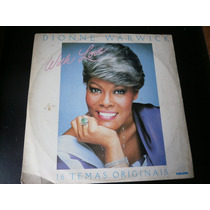 Lp Dionne Warwick With Love, Disco De Vinil, Ano De 1982