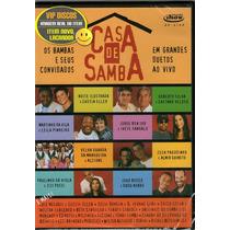 Dvd Casa De Samba Cássia Eller Zélia Duncan Zizi Possi