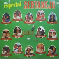 Especial Sertanejo Vol 3 Lp Especial Sertanejo Vol 3