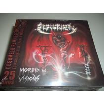 Cd - Sepultura - Morbid Visions - Digipack Novo Lacrado