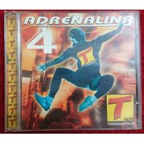 Cd Adrenalina - Vol. 4 - Transamérica - Raro - Frete Grátis