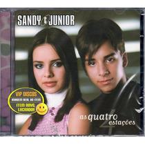 Cd Sandy E Junior As Quatro Estações - Novo Lacrado Raro