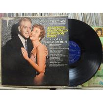 Jeanette Mac Donald & Nelson Eddy Canções Famosas Lp Rca