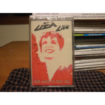 Fita K7 Cassete Liza Minnelli Live From Radio City Music