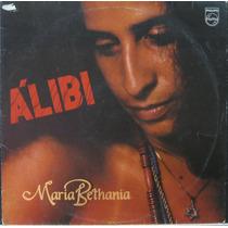 Maria Bethania Lp Disco Vinil Alibi + Encarte