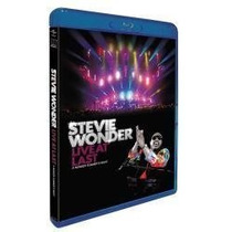 Stevie Wonder - Live At Last - Blu Ray Lacrado