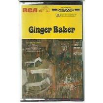 Fita Cassete Ginger Baker Horses And Trees