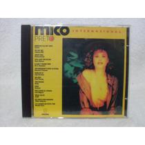 Cd Original Mico Preto- Internacional- Som Livre 1990