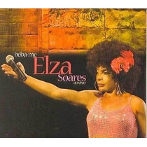 Cd Elza Soares Beba-me Ao Vivo
