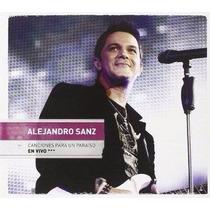Dvd+cd Alejandro Sanz Canciones Para Un Paraiso En Vivo