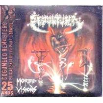 Cd Sepultura - Morbid Visions/bestial Devastation Lacrado!!!