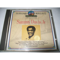 Cd Alemão Sammy Davis Jr - 16 Original World Hits* F.reais
