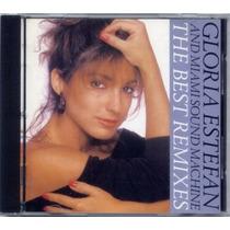 Cd Gloria Estefan & Miami Sound Ma - The Best Remixes (imp.)