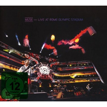 Cd/dvd Muse Live At Rome Olympic Stadium [eua] Novo Lacrado