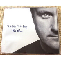 Phil Collins Cd Single Both Sides Of The Story Promo Raro