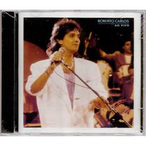 Roberto Carlos Cd Ao Vivo 1988 Novo, Original E Lacrado
