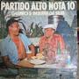 Lp Partido Alto Nota 10 Genaro & Bezerra Da Silva