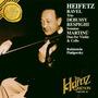 Cd Ravel, Respighi, Debussy, Martinu Sonatas & Trios Heifetz