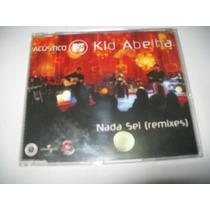 Cd Single Promo Kid Abelha Acústico Mtv - Nada Sei Remixes