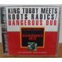 Cd King Tubby Meets Roots Radics Reggae Dub Dancehall 1996