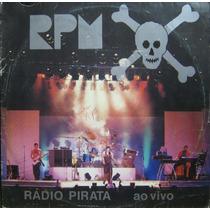 Rpm Lp Radio Pirata Ao Vivo + Encarte