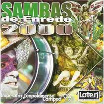 Cd Sambas De Enredo 2000 Rj