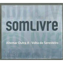 Altemar Dutra - Box - A Volta Do Seresteiro - Box Com 4 Cds