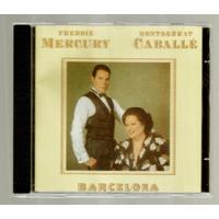 Freddie Mercury E Montserrat Caballé Cd Barcelona Novo