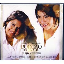 Cd Duplo Vanilda Bordieri E Célia Sakamoto - As 40 Melhores