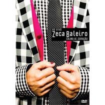 Dvd Zeca Baleiro Calma Aí, Coração (2013) - Novo Lacrado