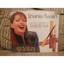 Cd Shania Twain Revlon Feel Like A Womam 2 Faixas Nacional