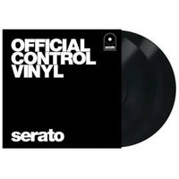 Vinyl Timecoded Serato Preto Pronta Entrega ( Par )
