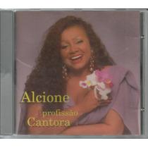 Cd Alcione - Profissão Cantora - 1995 - Novíssimo