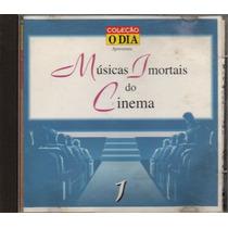 Cd Coleção O Dia - Músicas Imortais Do Cinema - Volume 1
