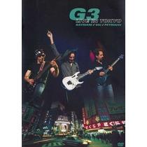 Dvd G3 Live In Tokyo (2005) - Novo Lacrado Original