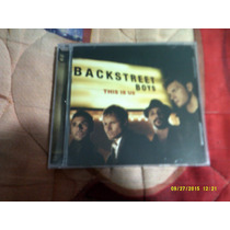Backstreet Boys This Is Us Cd Usa Novo E Lacrado