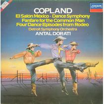 Lp Antal Dorati - Copland - El Salon Mexico - 1982 - London