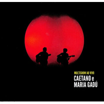 Caetano Veloso E Maria Gadu - Multishow Ao Vivo Cd Novo Raro